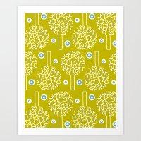 Annika Trees Art Print