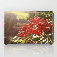 Red Berries iPad Case
