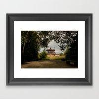 Le Manège Framed Art Print