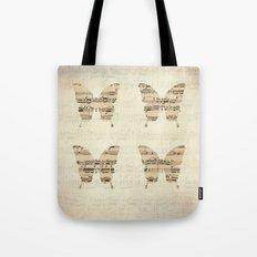 butterflies - the magic flute Tote Bag