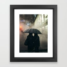Snowstorm Framed Art Print