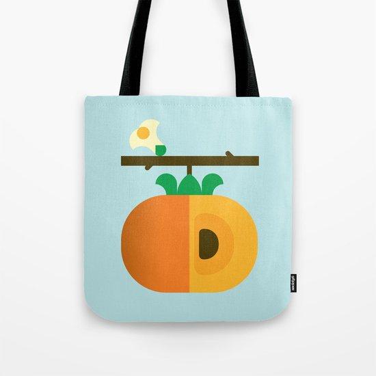 Fruit: Persimmon Tote Bag