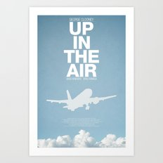 Up In The Air Art Print