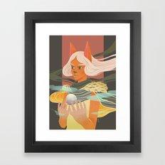 Light Bearer Framed Art Print