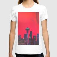seattle T-shirts featuring Seattle. by Daniel Montero