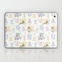 Teddy Bear Alphabet ABC'… Laptop & iPad Skin