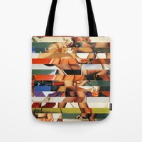 Glitch Pin-Up Redux: Peyton Tote Bag