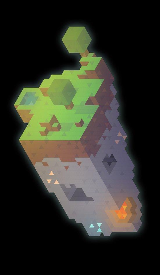 Minecraft Trixel Art Print
