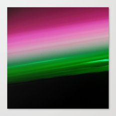 Pink Green Ombre Canvas Print