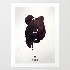 CORE Black Art Print