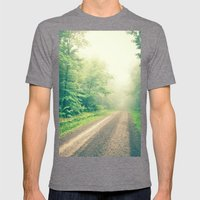 The First Step is the Dream Mens Fitted Tee Tri-Grey SMALL