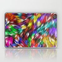 Fur From A Bright Colored Mythical Beast Laptop & iPad Skin
