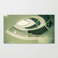 Teardrop Stairs Canvas Print