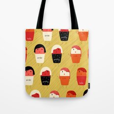 Cute girls Tote Bag