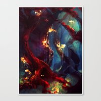 TreeFish Canvas Print
