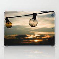 Unlit Sunset.  iPad Case