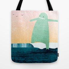 Monster Wave Tote Bag