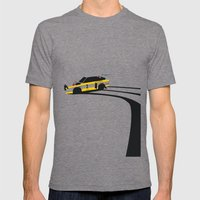 Quattro S1 Mens Fitted Tee Tri-Grey SMALL