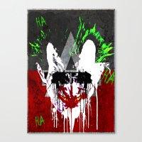 Arkham City Joker!  Canvas Print