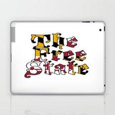 Free State white Laptop & iPad Skin