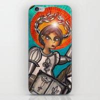 Joan Of Arc iPhone & iPod Skin
