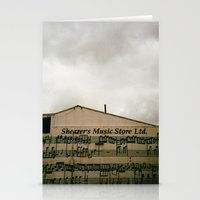 The Music Store Stationery Cards