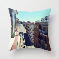 Minervino Sun Throw Pillow