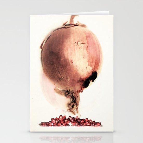 Onion story Stationery Card