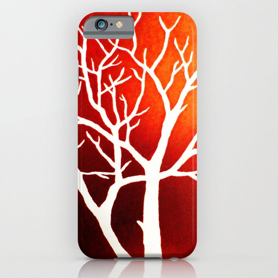 BLAZING TREES iPhone & iPod Case