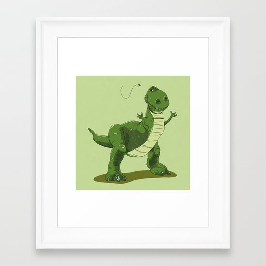 """Give me a Longer Hand!"" Framed Art Print"