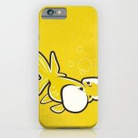 iPhone & iPod Case featuring Bubble Eye Goldfish by C Barrett