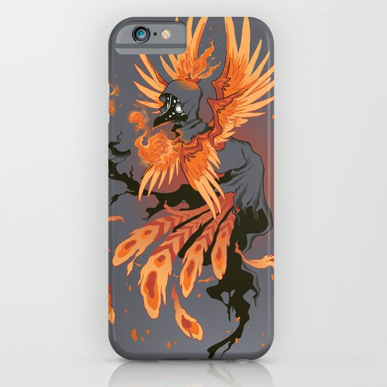 The Avian Arsonist iPhone & iPod Case
