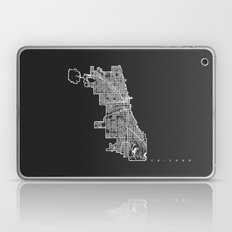 CHICAGO MAP Laptop & iPad Skin