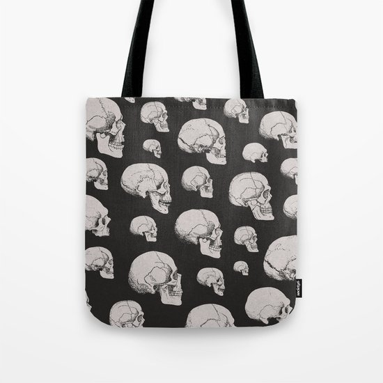 On the Two Principal Forms of Ancient British and Gaulish Skulls Tote Bag
