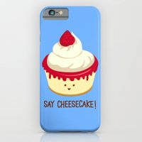 iPhone & iPod Case featuring Say CheeseCake! by AnishaCreations