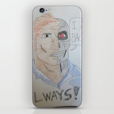 Bootleg Series: Cyborg Future Guy iPhone & iPod Skin