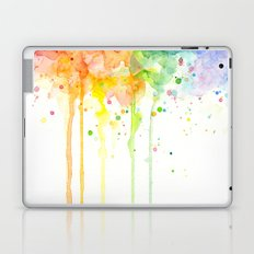 Watercolor Rainbow Laptop & iPad Skin