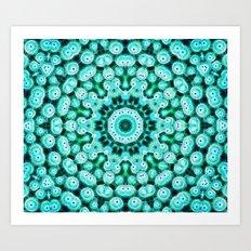 Cactus Star Art Print