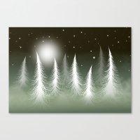 LOST SNOWFLAKE Canvas Print