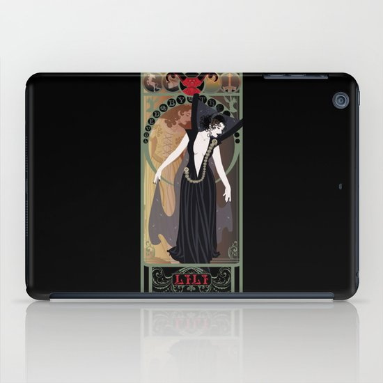 Dark Lili Nouveau - Legend iPad Case