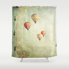 Tales Of Another Time Shower Curtain