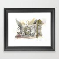 Le Ble Framed Art Print