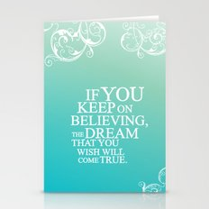 Believing.. Cinderella Q… Stationery Cards