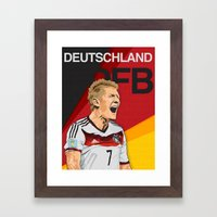 Germany World Cup 2014 Framed Art Print