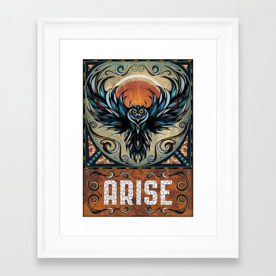 Arise Framed Art Print
