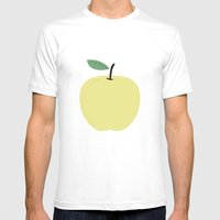 Apple 18 Mens Fitted Tee White SMALL