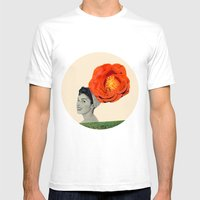 Clarice Mens Fitted Tee White SMALL