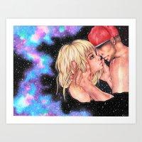 Savoring Stars Art Print