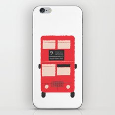 Red Double Decker Bus  iPhone & iPod Skin