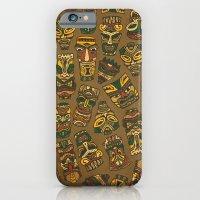 Tiki Masks iPhone 6 Slim Case
